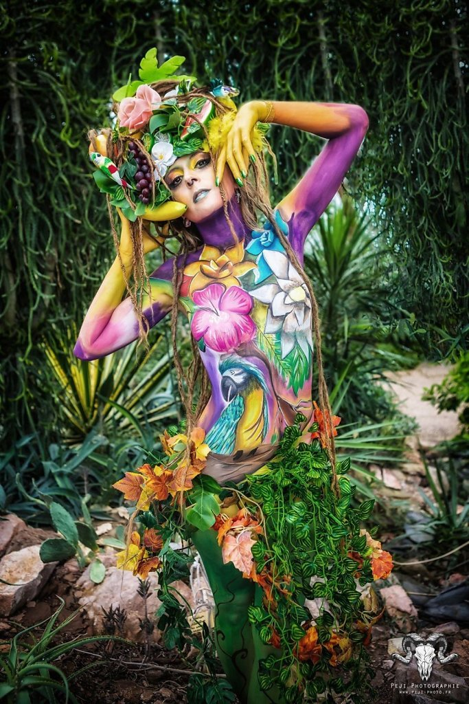 Jungle - Bodypainting